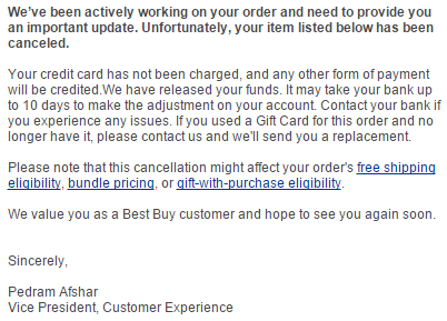Best Buy Cancels Orders For Gift Card Pricing Error - Danny the ...