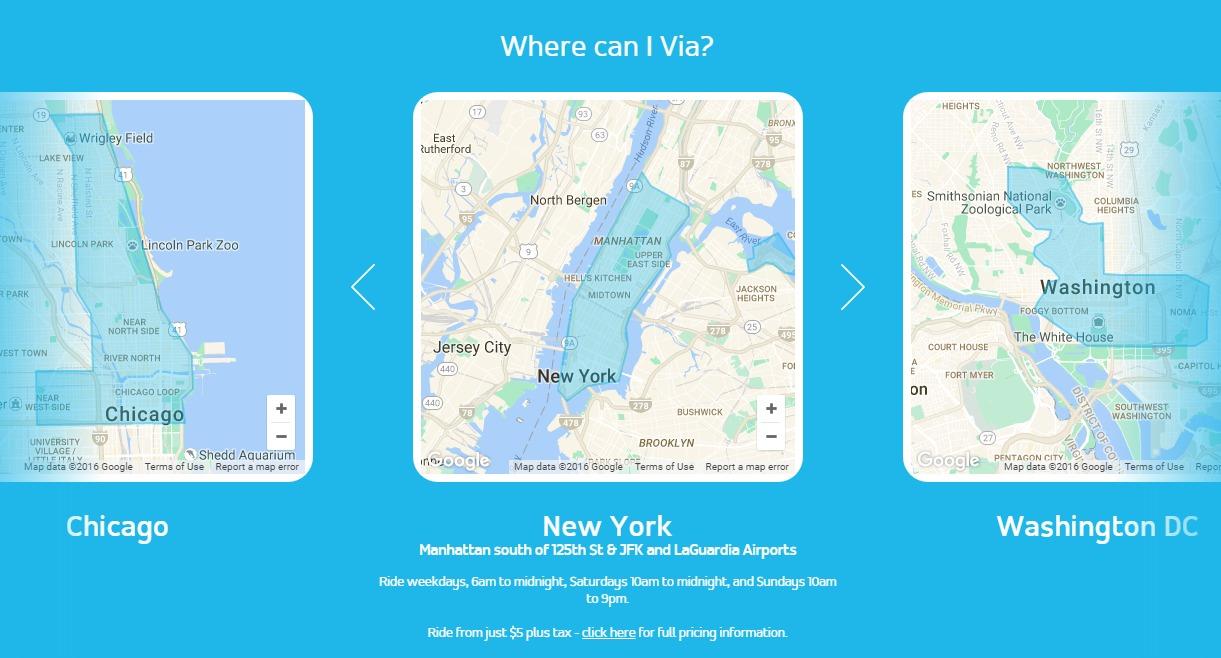 Via UberLike App With  Rides Plus Sign Up Bonus NYC Chicago - Chicago map app