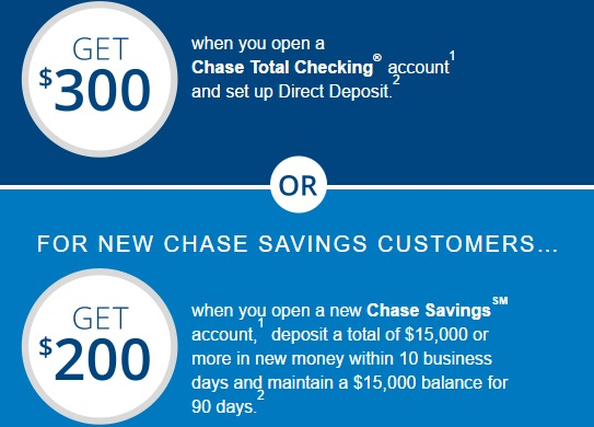 Direct Link For Chase $500 Checking & Savings Bonus (Log In Required) - Danny the Deal Guru
