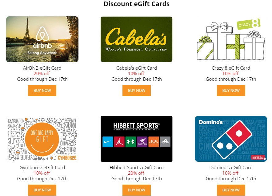 Up To 20% Off Select Gift Cards At GiftCardMall - Danny the Deal Guru