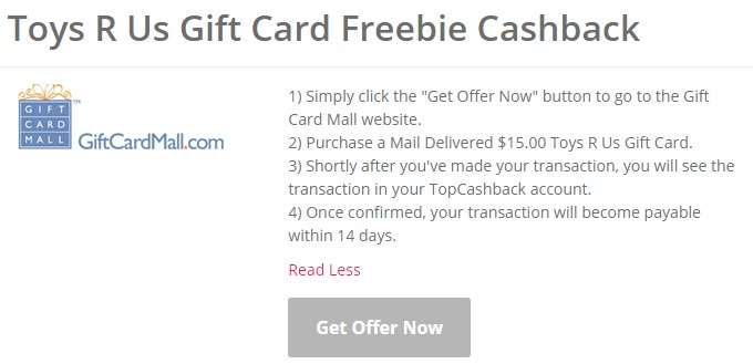 Toys R Us Free Gift Card Crunchyroll Free Shipping Code