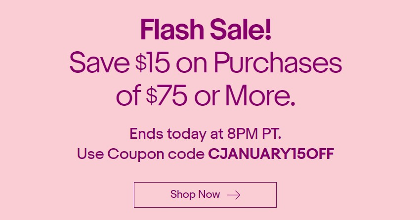 Ebay flash saleeg fandeluxe Choice Image