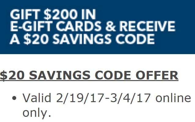 $20 Savings Code With $200 Best Buy eGift Card Purchase At ...