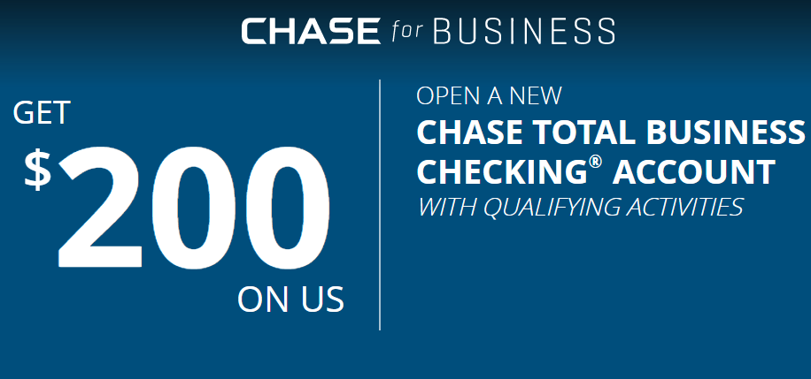 Chase Business Checking, $200 Bonus With No Direct Deposit Requirement - Danny the Deal Guru