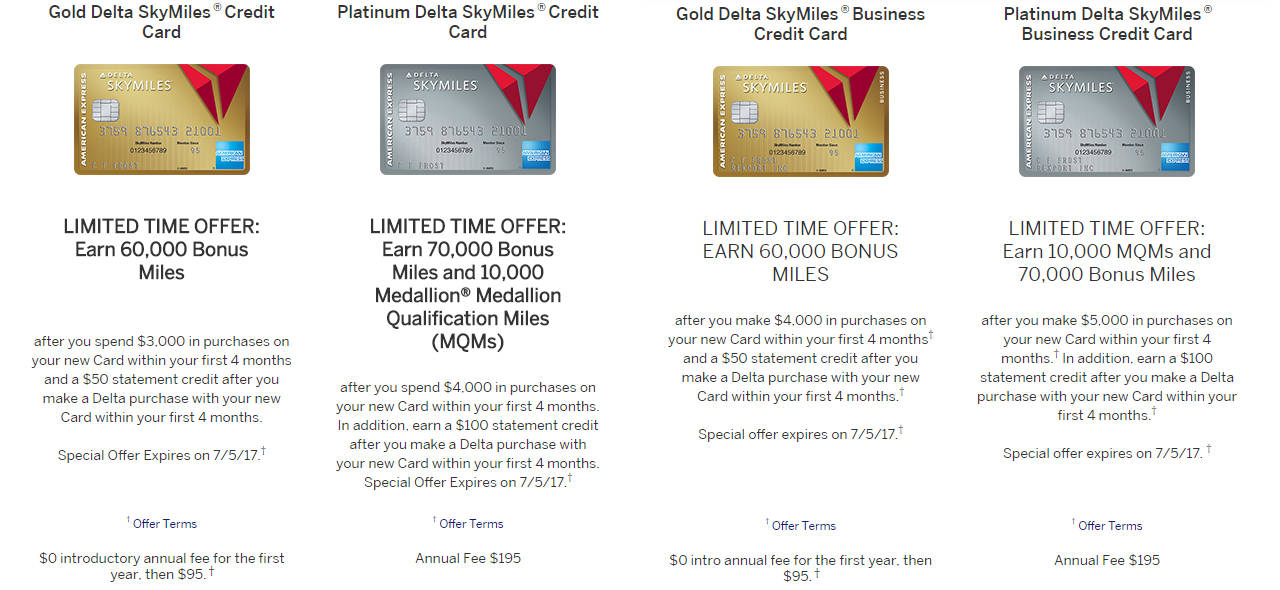 Increased sign up bonuses for amex delta credit cards danny the increased sign up bonuses for amex delta credit cards danny the deal guru reheart Gallery