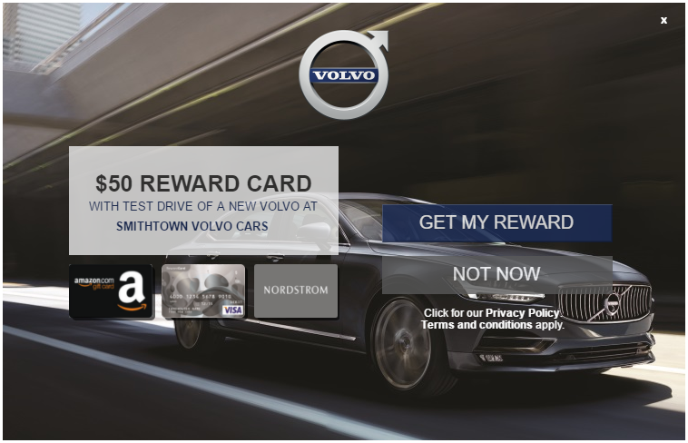 Test Drive a Volvo, Get a $50 Visa Gift Card - Danny the Deal Guru