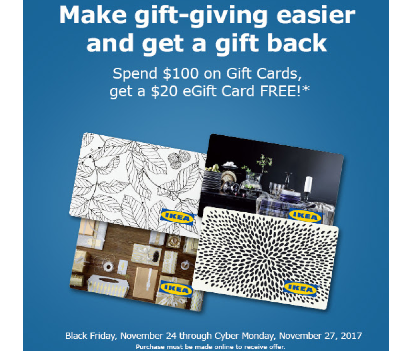 Ikea gift card weu0027ve now unlocked rm80 ikea gift for Buy ikea voucher online