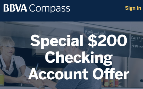 BBVA Compass $200 Checking Account Bonus Available Nationwide - Danny the Deal Guru